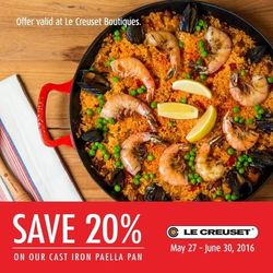 Le Creuset Offer