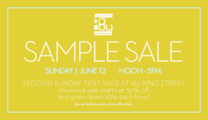 Ibu Sample Sale