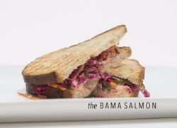 The Bama Salmon Caviar and Bananas