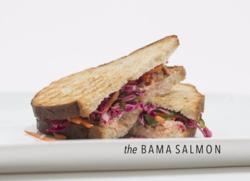 The Bama Salmon Caviar and Bananas