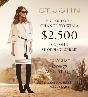 St. John Sweepstakes