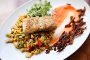 Amen Street Fresh Fish Plate