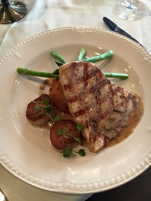 Swordfish Dinner at Barony Tavern