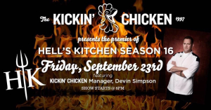 Kickin Chicken & Hell's Kitchen Premier